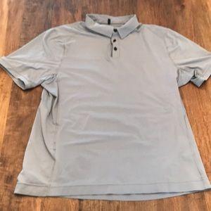 Lululemon performance golf polo shirt